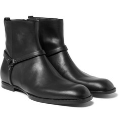 Bottega Veneta - Leather Jodhpur Boots
