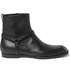 Bottega Veneta Leather Jodhpur Boots