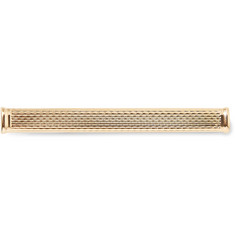 Dunhill - Barley Unique Textured Gold-Plated Tie Clip