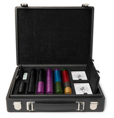 Dunhill Bourdon Leather Poker Set