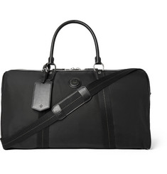 Dunhill - Guardsman Leather-Trimmed Canvas Holdall