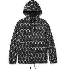 Undercover Printed Shell Hooded Jacket