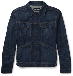 TOM FORD - Slim-Fit Selvedge Denim Jacket