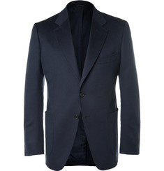 TOM FORD Blue O'Connor Slim-Fit Unstructured Cashmere Blazer