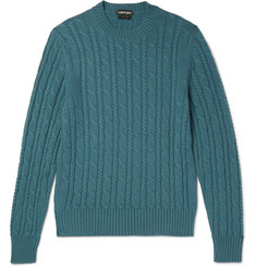 TOM FORD Cable-Knit Cashmere Sweater