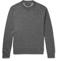 TOM FORD Cashmere and Cotton-Blend Sweatshirt
