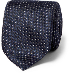 TOM FORD 8.5cm Polka-Dot Silk Tie