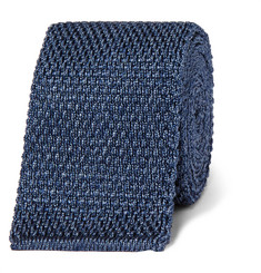 Tom Ford - 7cm Mélange Knitted Silk Tie