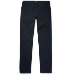 Tod's Slim-Fit Garment-Washed Cotton-Twill Jeans