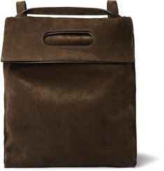 TOM FORD Convertible Suede Backpack