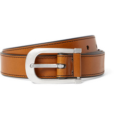 TOM FORD - 3cm Brown Leather Belt