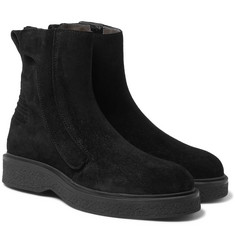 Lanvin - Brushed-Suede Boots