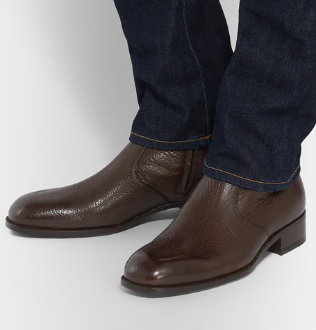 Icon Wilson Leather Boots - BrownTom Ford MVEwWB
