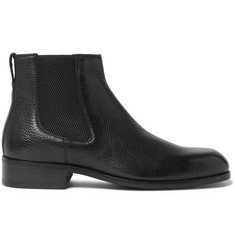 TOM FORD Wilson Full-Grain Leather Chelsea Boots