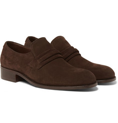 TOM FORD - Wilson Suede Loafers