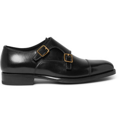 Tom Ford - Wessex Leather Monk-Strap Shoes