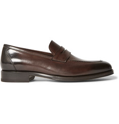TOM FORD Wessex Leather Penny Loafers