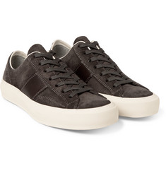 Tom Ford - Cambridge Leather and Suede Sneakers