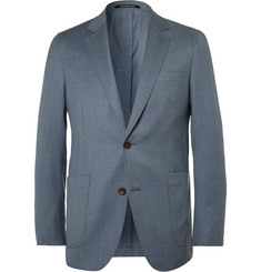Richard James Blue Slim-Fit Super 110s Wool Blazer