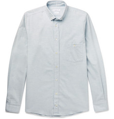 Richard James Slim-Fit Button-Down Collar Cotton Oxford Shirt