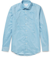 Richard James Slim-Fit Cotton-Twill Shirt