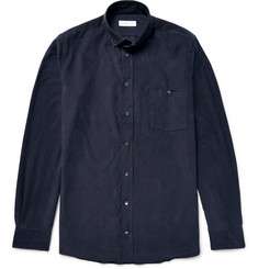 Richard James Slim-Fit Button-Down Collar Cotton-Corduroy Shirt
