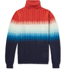 Richard James Dégradé Wool Rollneck Sweater