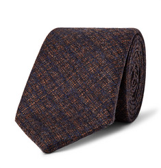 Richard James 7cm Checked Wool and Cashmere-Blend Tie