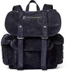 Balmain Suede Backpack