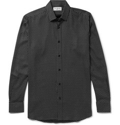Saint Laurent Star-Print Twill Shirt