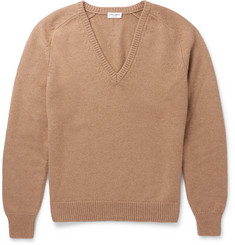 Saint Laurent Camel Sweater
