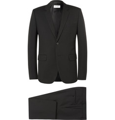 Saint Laurent Black Slim-Fit Virgin Wool-Gabardine Suit