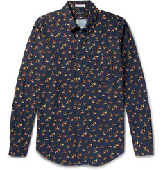 Engineered Garments Bird-Print Cotton Shirt