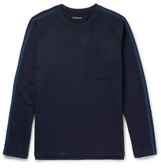 Engineered Garments Striped Cotton-Jersey Sweatshirt