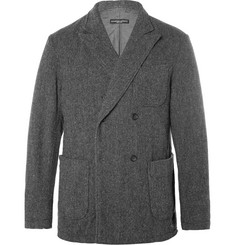 Engineered Garments Dexter Herringbone Double-Breasted Wool Blazer