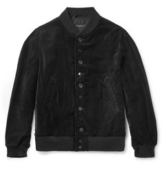 Engineered Garments Velvet Bomber Jacket