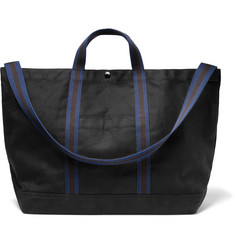 Engineered Garments Courtney Webbing-Trimmed Cotton-Canvas Tote Bag