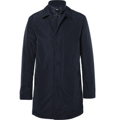 NN07 - Blake Slim-Fit Layered Water-Resistant Shell Car Coat