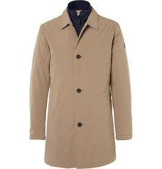 NN07 Blake Slim-Fit Layered Waterproof Shell Car Coat