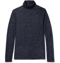 NN07 Vincent Mélange Wool-Blend Rollneck Sweater