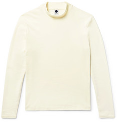 NN07 Monty Cotton Mock Neck Sweatshirt