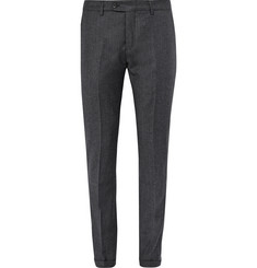 NN07 Soho Slim-Fit Mélange Wool Trousers