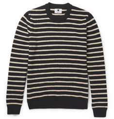 NN07 Mike Striped Wool Sweater