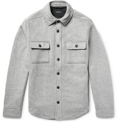 Saturdays NYC Jeremiah CPO Mélange Felt Shirt Jacket
