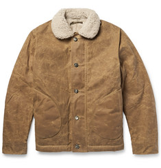 Freemans Sporting Club - N1 Shearling-Lined MIL-SPEC TexWax™ Deck Jacket