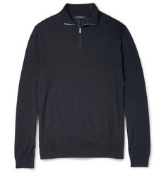 Ermenegildo Zegna Wool Half-Zip Sweater