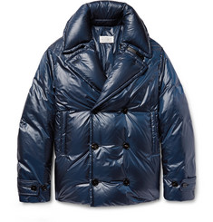 Maison Margiela Quilted Shell Down Peacoat