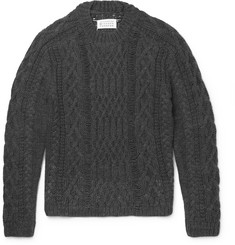 Maison Margiela Cable-Knit Sweater
