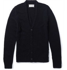 Maison Margiela Distressed Wool Cardigan