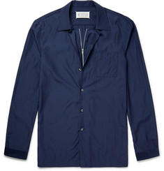 Maison Margiela Slim-Fit Zip-Detailed Shell Shirt